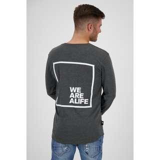 ALIFE AND KICKIN Langarmshirt Herren moonless