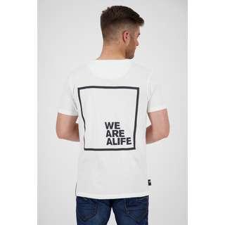 ALIFE AND KICKIN Logo PocketAK T-Shirt Herren cloudy
