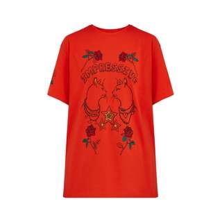 Finn Flare Printshirt Damen red