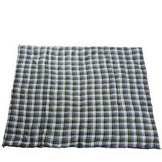 anaterra XXL Picknickdecke blau karriert Decke bunt