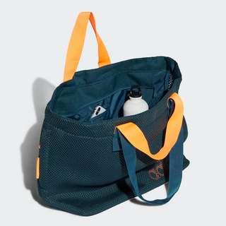 adidas Mesh Sports Tragetasche Sporttasche Damen Wild Teal / Screaming Orange