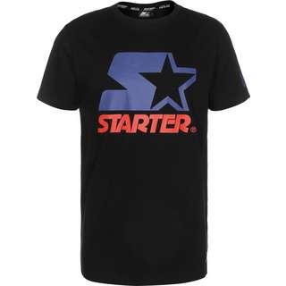 STARTER Two Color Logo T-Shirt Herren schwarz