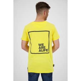 ALIFE AND KICKIN Logo PocketAK T-Shirt Herren lime