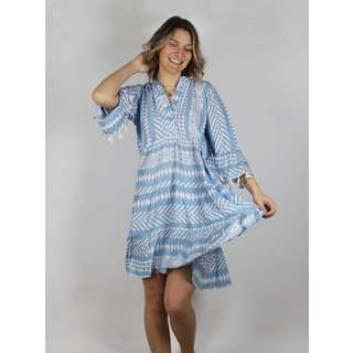 Zwillingsherz Kleid Indira Kleid Damen blau