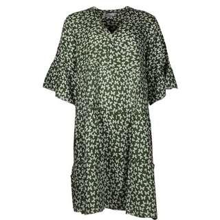 Zwillingsherz Kleid Schmetterling Minikleid Damen khaki