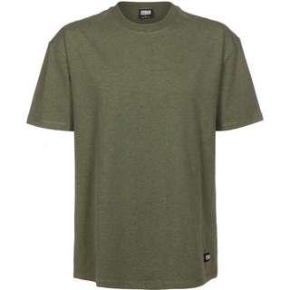 Urban Classics Oversize Melange T-Shirt Herren grün/meliert