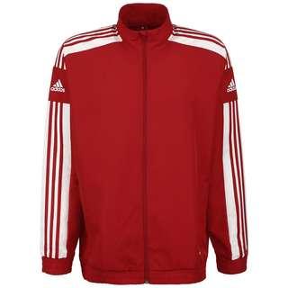 adidas Squadra 21 Trainingsjacke Herren rot / weiß