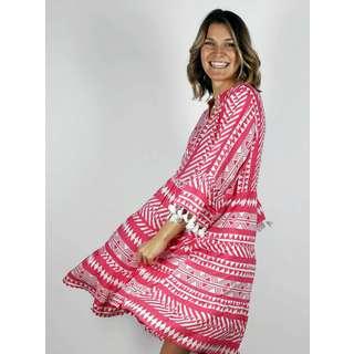 Zwillingsherz Kleid Indira Kleid Damen pink