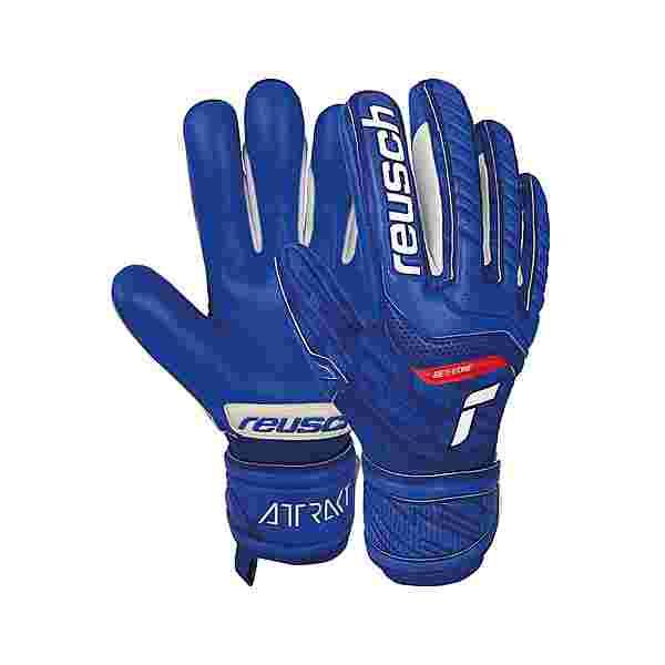 Reusch Reusch Attrakt Grip Evolution Torwarthandschuhe deep blue / deep blue