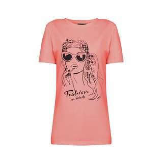 Finn Flare Printshirt Damen pink
