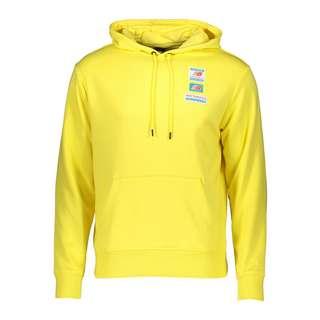 NEW BALANCE Essentials Field Day Hoody Sweatshirt Herren gelb