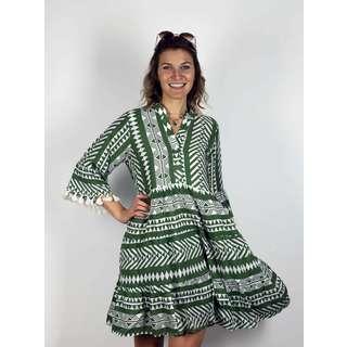 Zwillingsherz Kleid Indira Kleid Damen khaki
