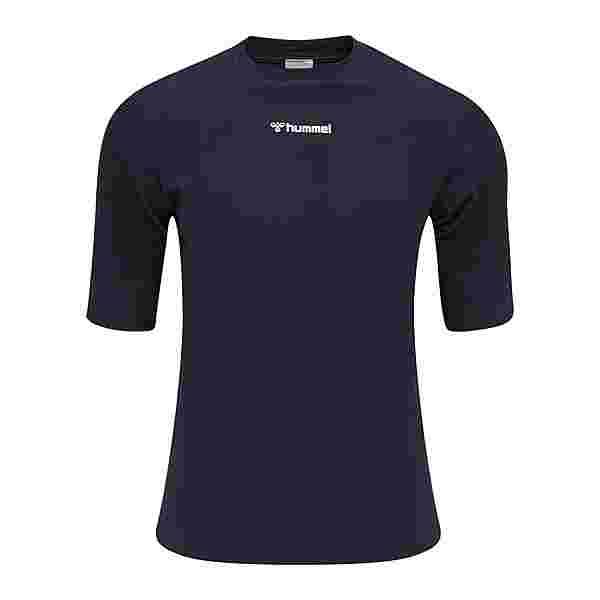 hummel Cube Seamless T-Shirt T-Shirt Herren blau