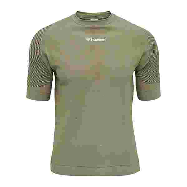 hummel Cube Seamless T-Shirt T-Shirt Herren gruen