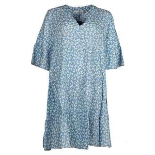 Zwillingsherz Kleid Schmetterling Minikleid Damen blau