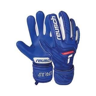 Reusch Attrakt Grip Evolution Finger Support Torwarthandschuhe Kinder deep blue / deep blue