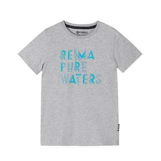 reima Kevyt Printshirt Kinder Melange grey