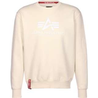 Alpha Industries Basic Sweatshirt Herren beige