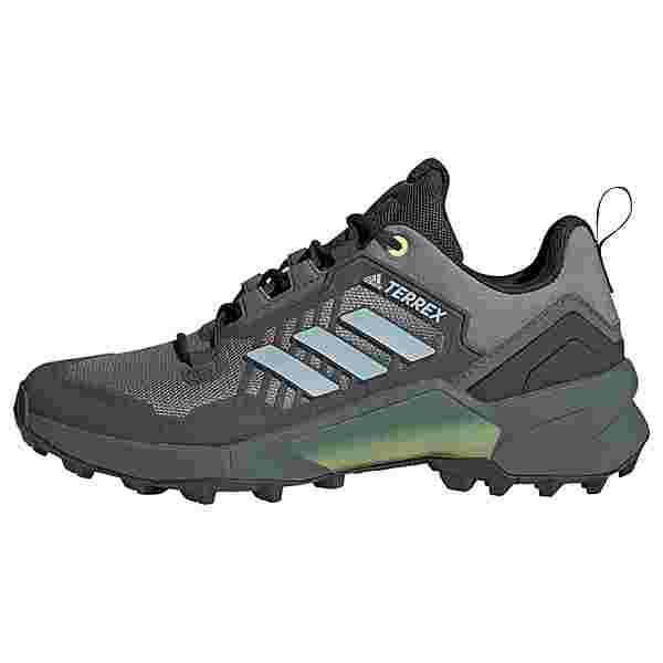 adidas TERREX Swift R3 Wanderschuh Wanderschuhe Damen Grey Three / Halo Blue / Hi-Res Yellow