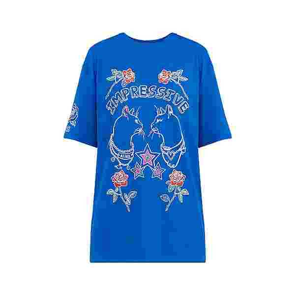 Finn Flare Printshirt Damen blue