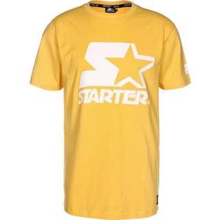 STARTER Logo T-Shirt Herren gelb