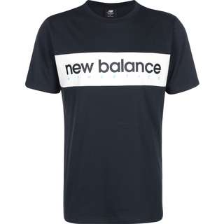 NEW BALANCE Athletics Linear T-Shirt Herren blau