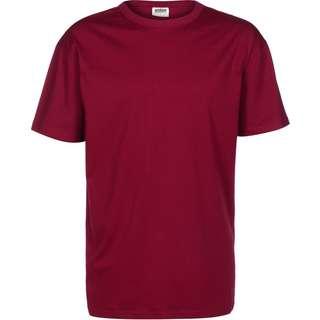 Urban Classics Organic Basic T-Shirt Herren weinrot