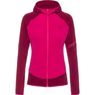 Dynafit TRANSALPER LIGHT Fleecejacke Damen beet red