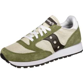 Saucony Jazz Original Vintage Sneaker Herren oliv/beige/braun