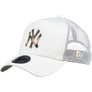New Era A-Frame Trucker New York Yankees Cap stone
