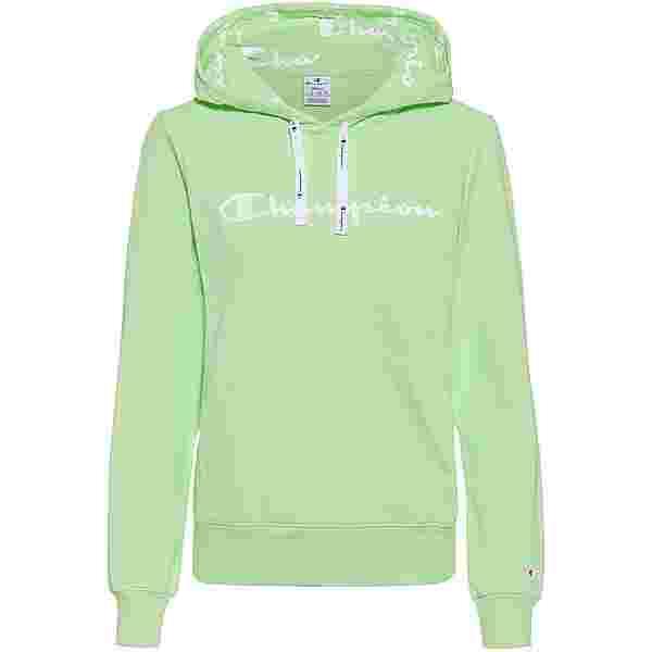 CHAMPION Hoodie Damen light green