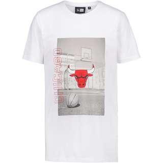 New Era Chicago Bulls T-Shirt Herren white