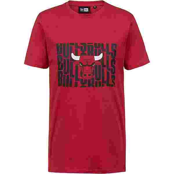 New Era Chicago Bulls T-Shirt Herren red