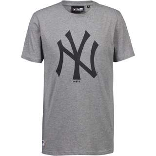 New Era New York Yankees T-Shirt Herren grey heather