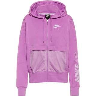 Nike NSW Air Sweatjacke Damen violet shock-white
