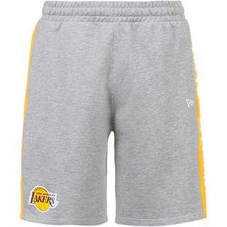 New Era Los Angeles Lakers Basketball-Shorts Herren grey heather