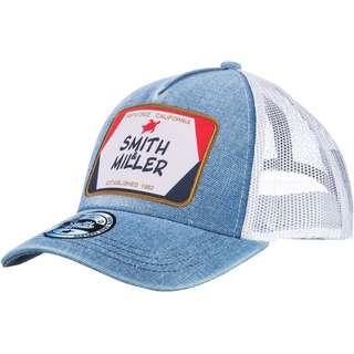 Smith and Miller Terra Trucker Cap light blue-white