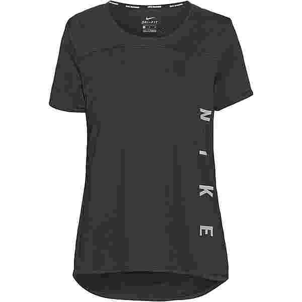 Nike Miler Run Division Funktionsshirt Damen black/reflective silv