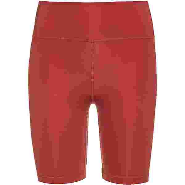 Nike Swoosh Run Radler Tights Damen canyon rust/reflective silv