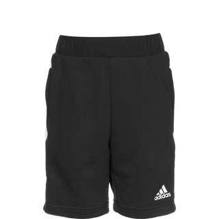 adidas Shorts Kinder black-core green-white