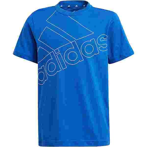 adidas ESSENTIALS T-Shirt Kinder team royal blue-white