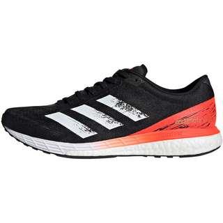 adidas ADIZERO BOSTON Laufschuhe Herren core black-ftwr white-solar red