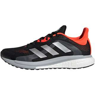adidas SOLAR GLIDE  ST Laufschuhe Herren core black-grey two-solar red