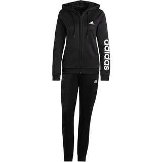 adidas LINEAR SPORT ESSENTIALS AEROREADY Trainingsanzug Damen black-white