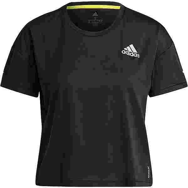 adidas PRIMEBLUE  SUPERNOVA AEROREADY Funktionsshirt Damen black-reflective silver