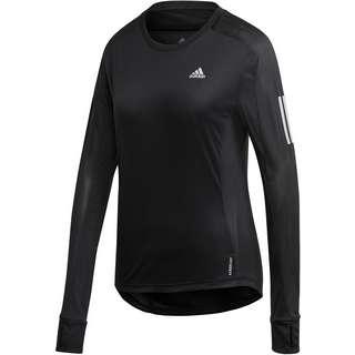 adidas OWN THE RUN RESPONSE AEROREADY Funktionsshirt Damen black