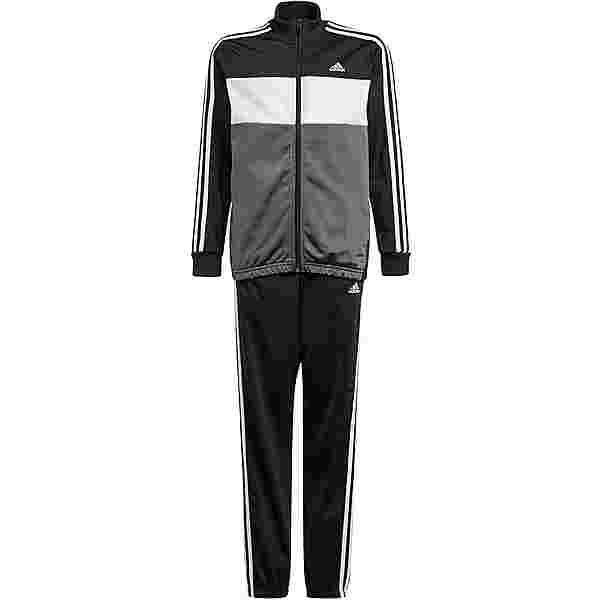 adidas ESSENTIALS PRIMEGREEN Trainingsanzug Kinder black-white