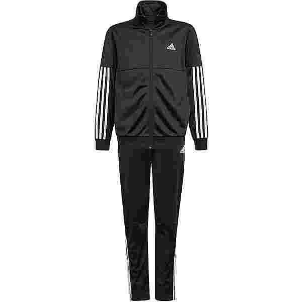 adidas PRIMEGREEN Trainingsanzug Kinder black-white