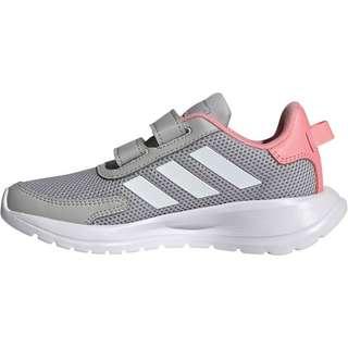 adidas Tensaur Run Laufschuhe Kinder grey two-ftwr white-super pop