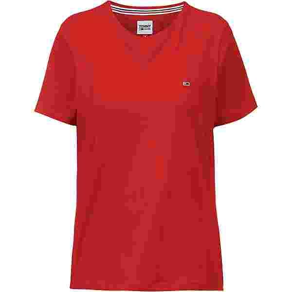 Tommy Hilfiger T-Shirt Damen deep crimson